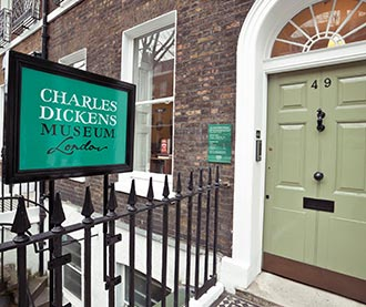 Charles Dickens House Museum
